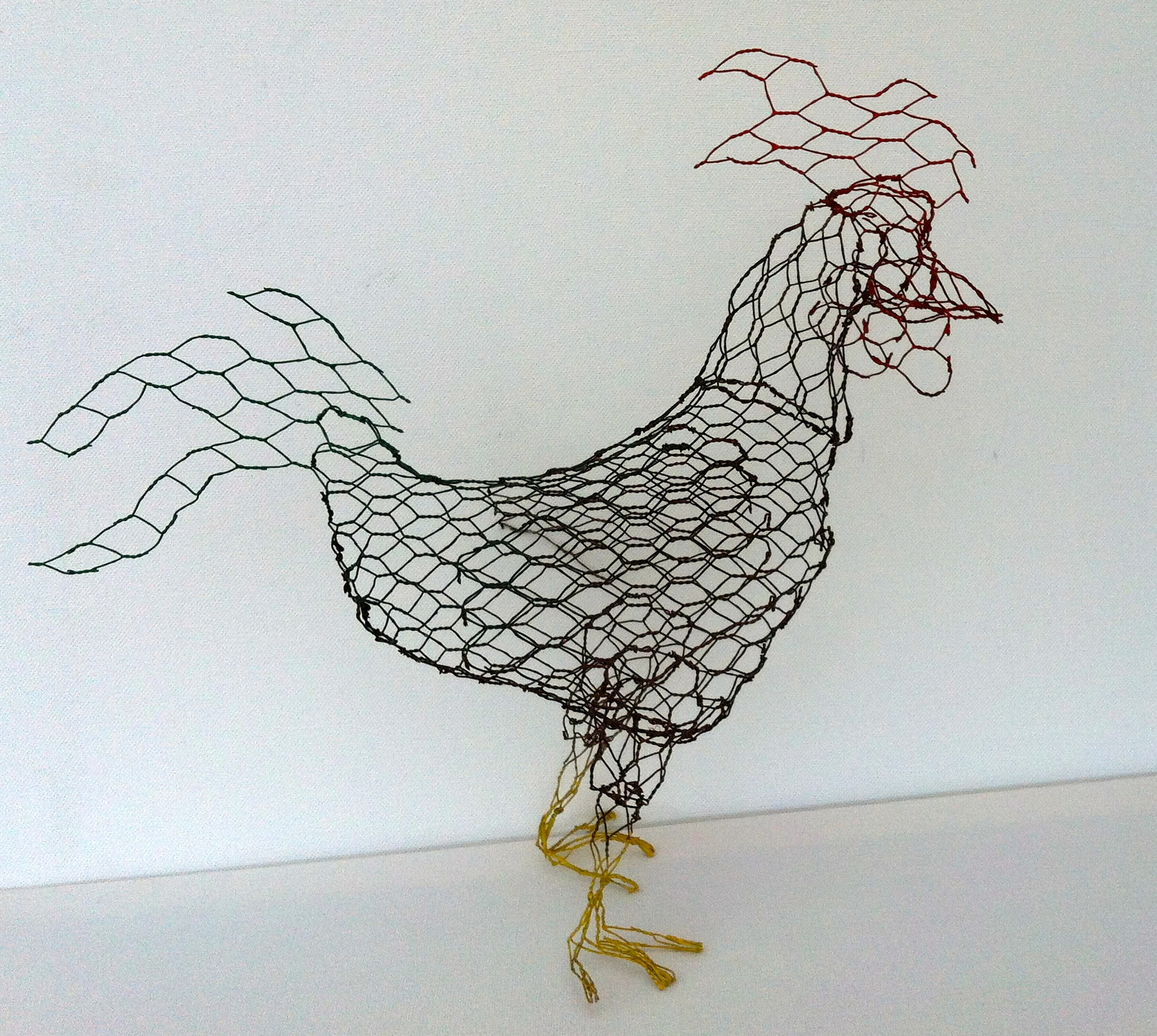 Chickenwire chicken | Chicken Wired
